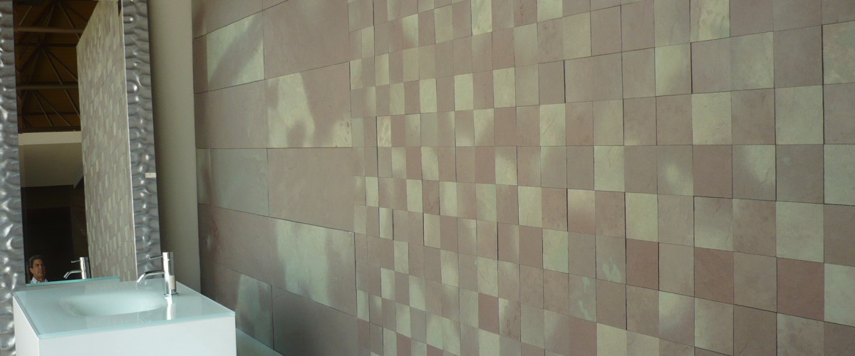 Exotic SLate Wall